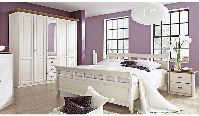 Schlafzimmer Landhausstil Kiefer Weiss ~ Übersicht Traum Schlafzimmer