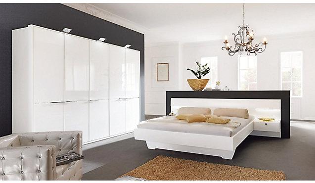 Komplett-Schlafzimmer Zippora - Schrank & Bettanlage von WMK