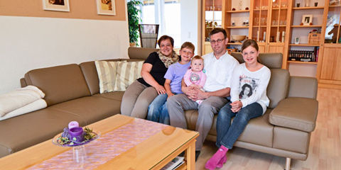 Erfolgsgeschichten bei Möbel Mahler: Familie Löffler