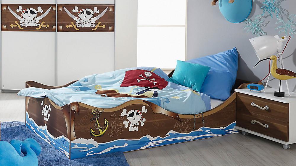 piratenschiff bett sonstige preisvergleiche. Black Bedroom Furniture Sets. Home Design Ideas