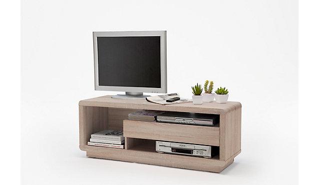 tv lowboard georg in eiche sonoma nachbildung. Black Bedroom Furniture Sets. Home Design Ideas