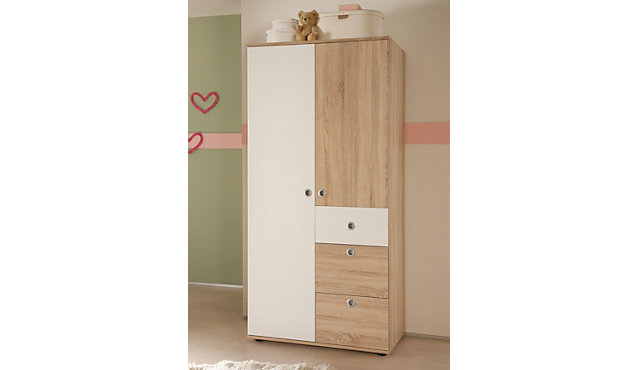 kinderzimmerschrank pia 90 cm breit. Black Bedroom Furniture Sets. Home Design Ideas