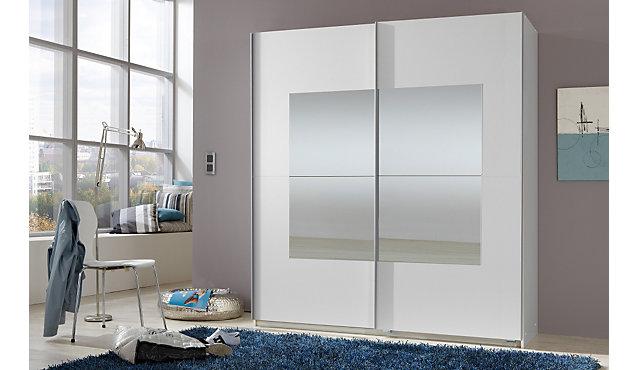 kleiderschrank salurn mit schwebet ren 180 cm breit mit. Black Bedroom Furniture Sets. Home Design Ideas