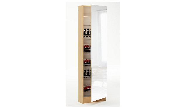 schuhschrank zolt n mit spiegelt r nur 20 cm tiefe. Black Bedroom Furniture Sets. Home Design Ideas