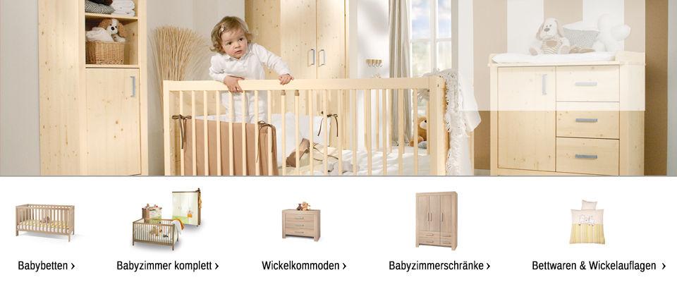babyzimmer online kaufen wickelkommoden und babybetten. Black Bedroom Furniture Sets. Home Design Ideas