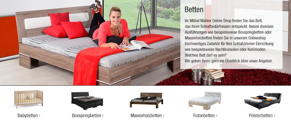 betten online kaufen | polsterbetten, boxspringbetten & mehr - Möbel Mahler Küchenplaner