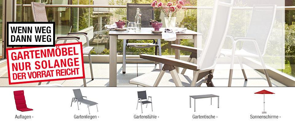 Gartenmöbel online kaufen  Stühle, Liegen, Tische & mehr => Gartenmobel Neu Ulm