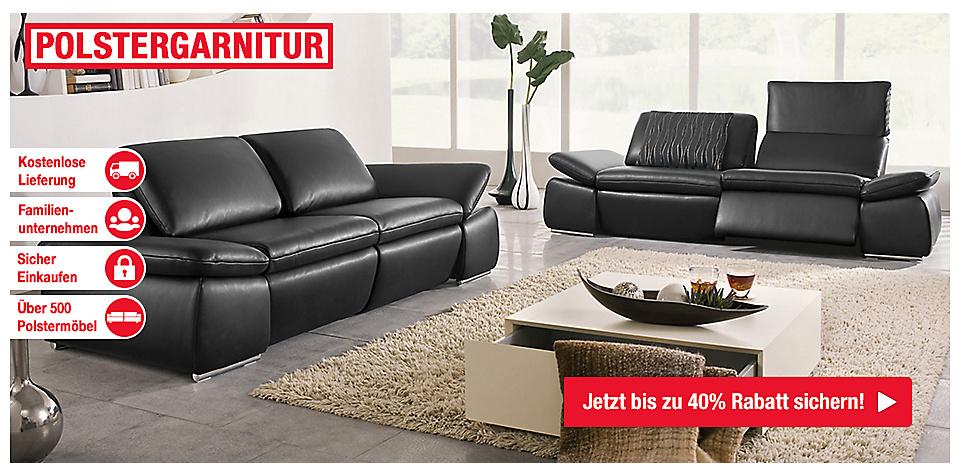 polstergarnitur g nstig bestellen bei m bel mahler. Black Bedroom Furniture Sets. Home Design Ideas
