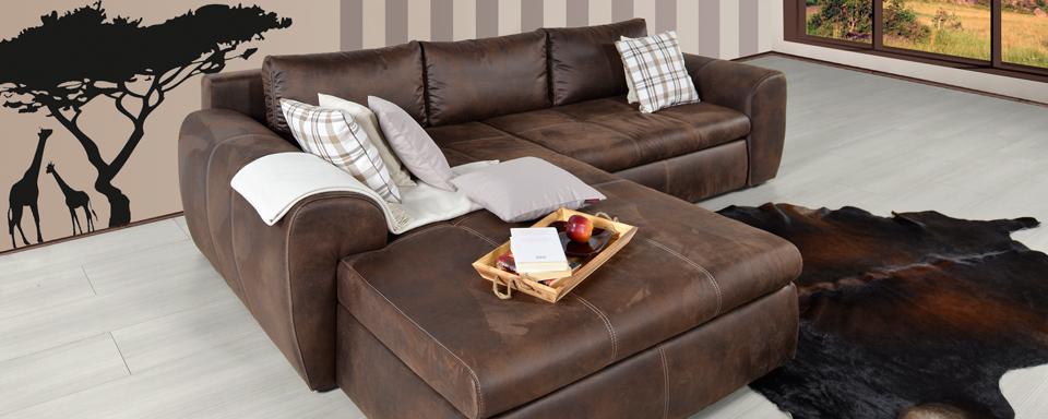 mikrofaser sofa online bestellen m bel mahler. Black Bedroom Furniture Sets. Home Design Ideas