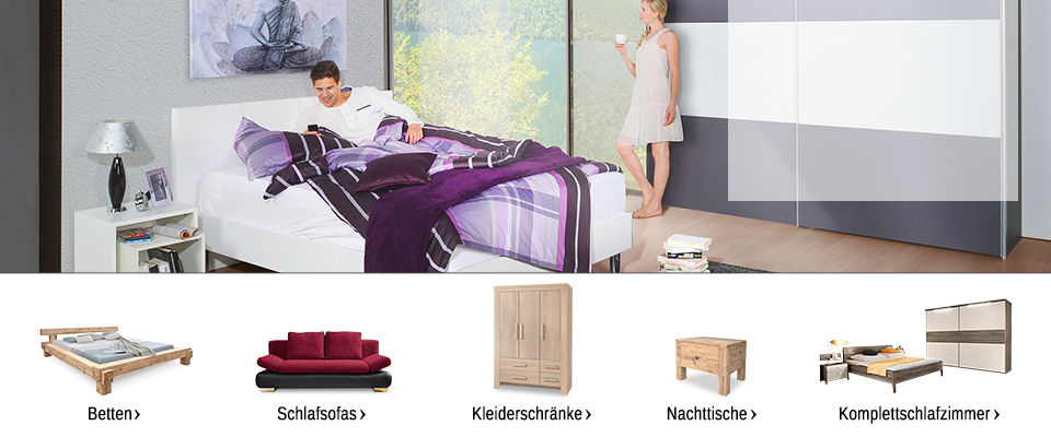 schlafzimmer m bel online kaufen m bel mahler. Black Bedroom Furniture Sets. Home Design Ideas
